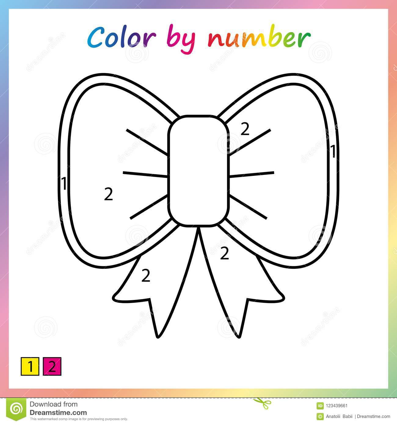 Color Purple Worksheet For Preschoolers