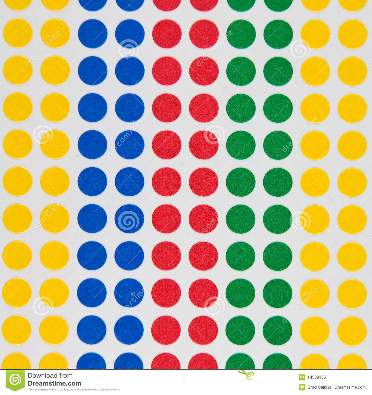 Colored Dots Stock Image Image Of Sticker Blue Colors