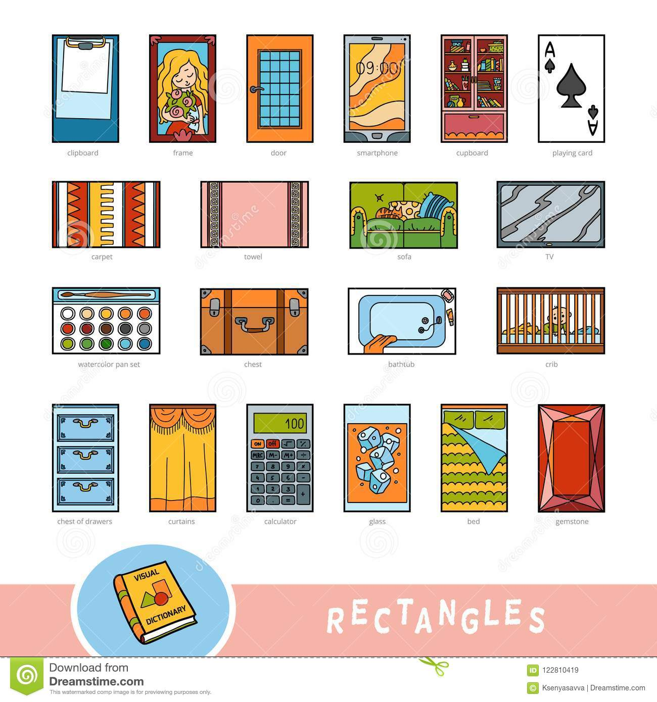 Visual Math Puzzle With Folded Model Paper Houses Vector