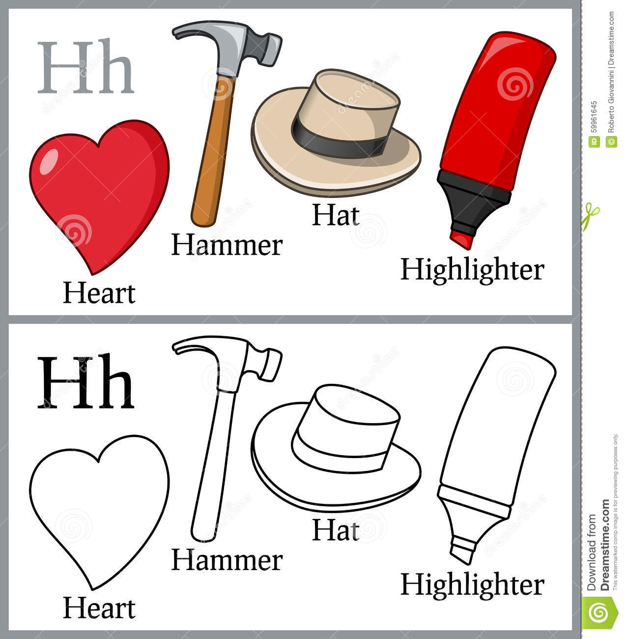 Objects That Start With The Letter H