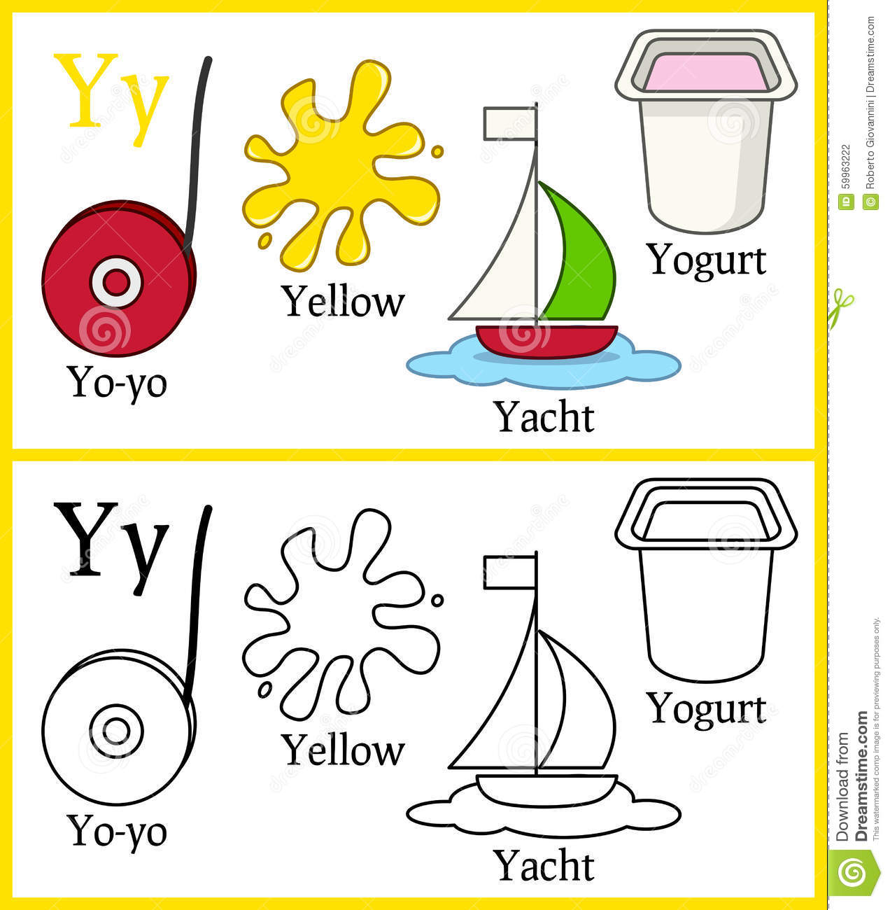 Objects With Letter Y Pictures To Pin