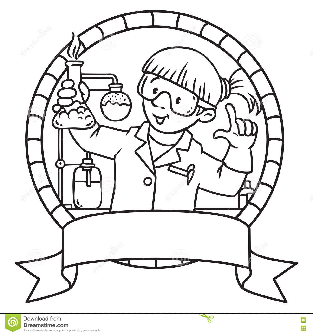 Chemical Cartoons Illustrations Amp Vector Stock Images