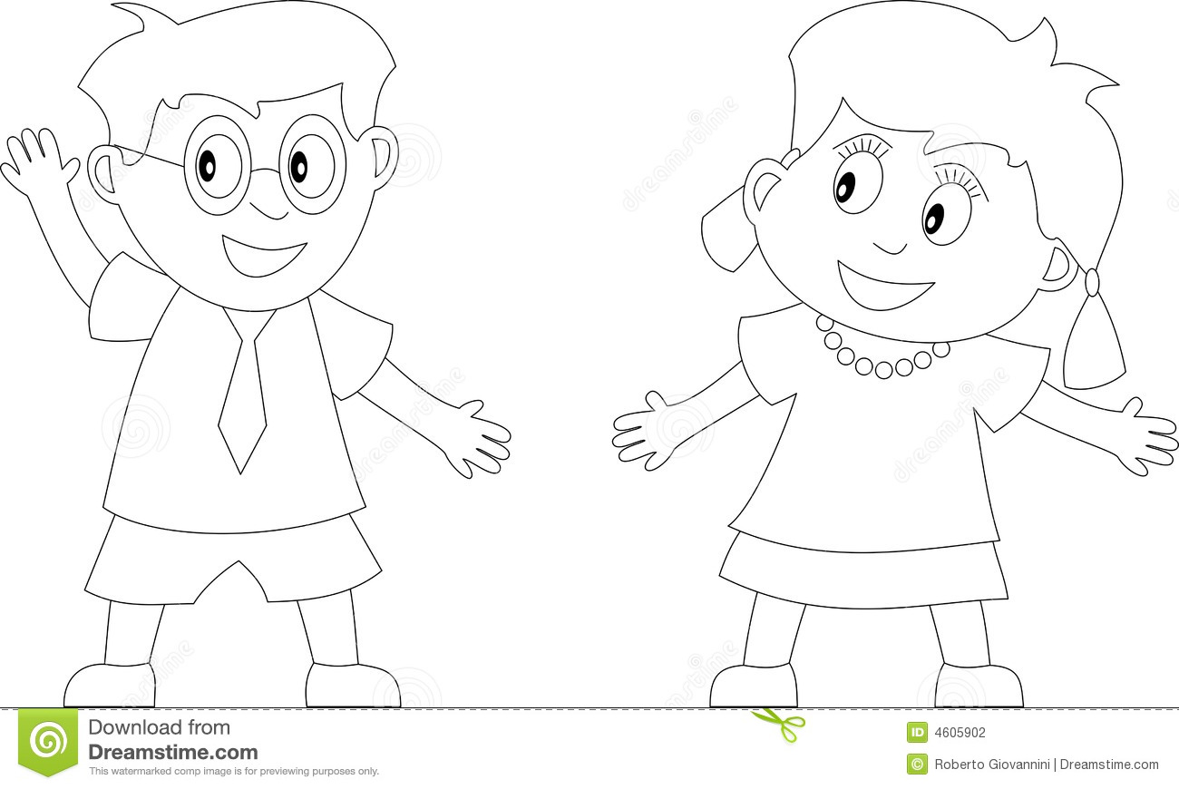 Coloring Book For Kids 1 Stock Illustration