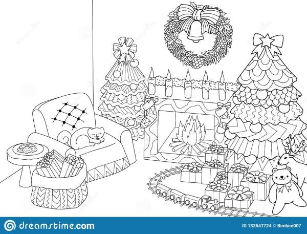 coloring pages christmas tree # 60