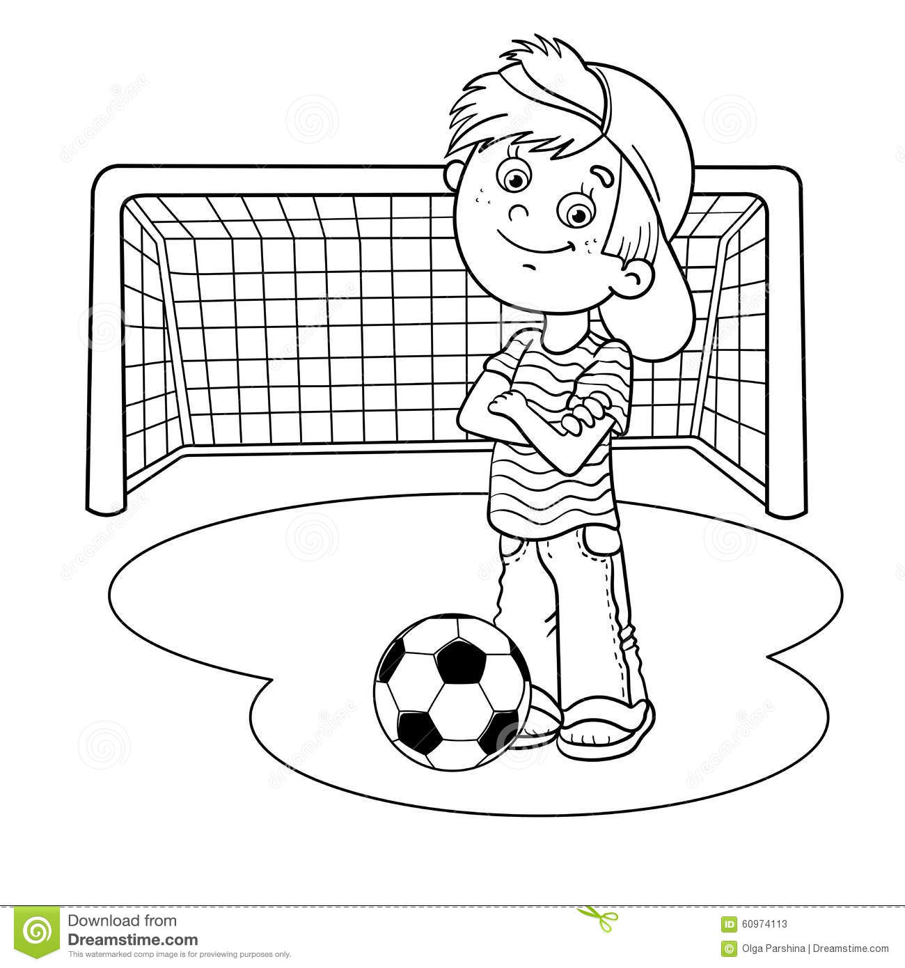 Soccer Goal Worksheet