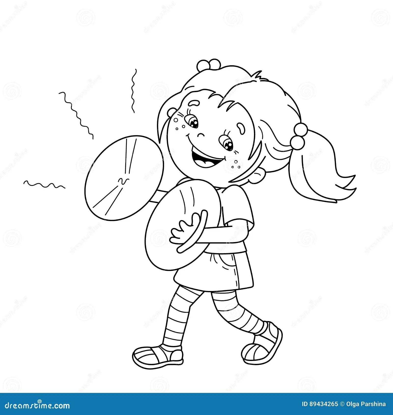 Cartoon Girl Playing Basketball Clipartsco Sketch Coloring