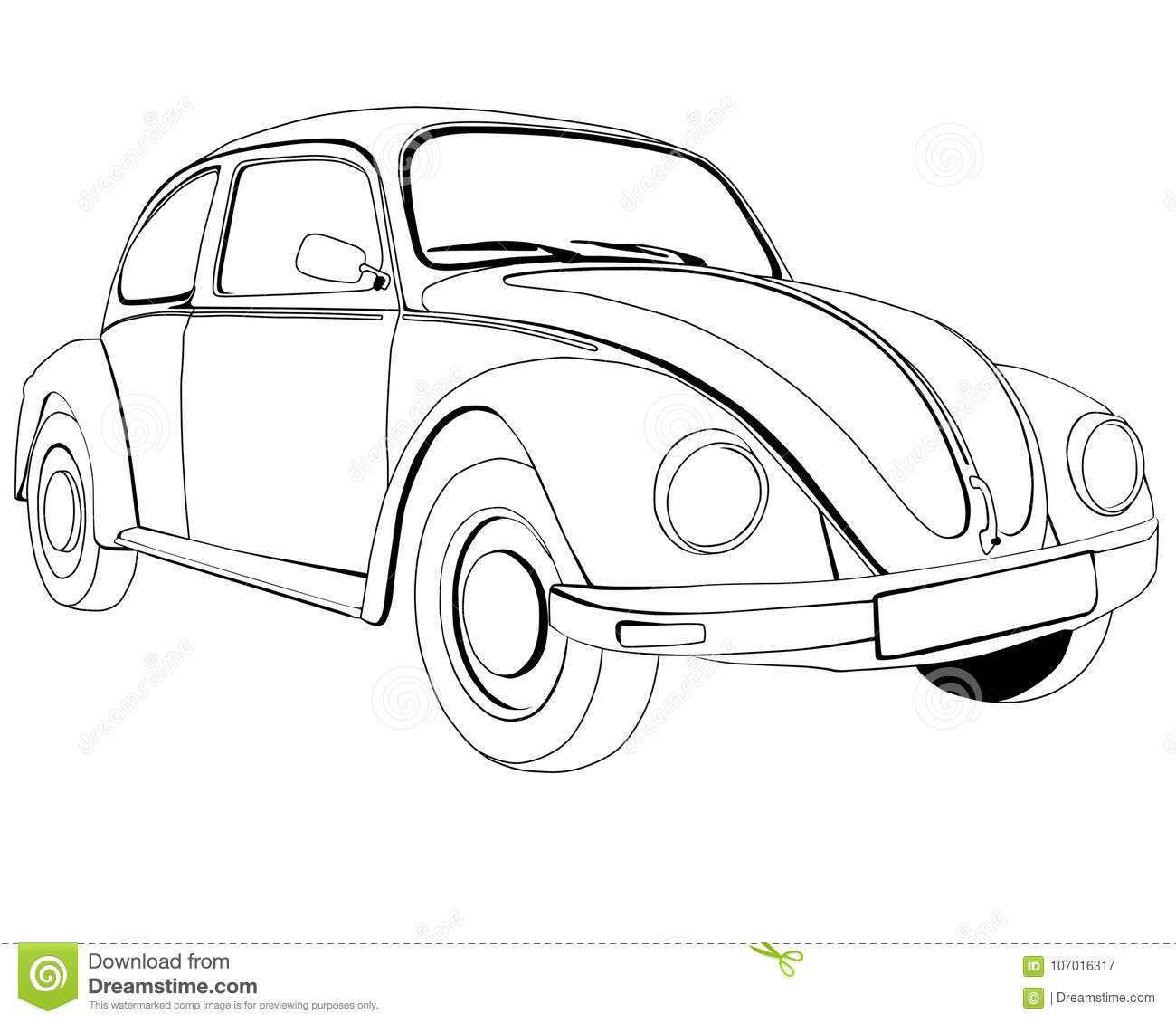 Volkswagen Cartoons Illustrations Amp Vector Stock Images