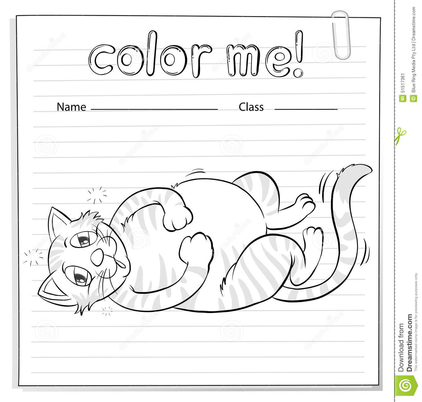 Max The Cat Worksheet