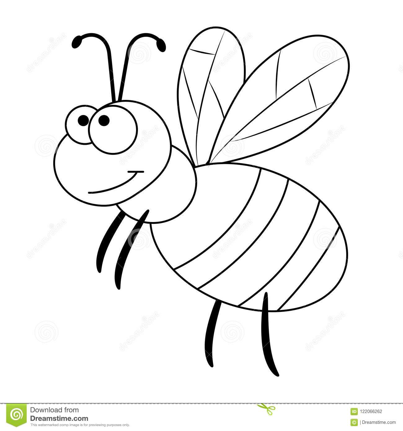 Queen Bee Sketch Sketch Coloring Page