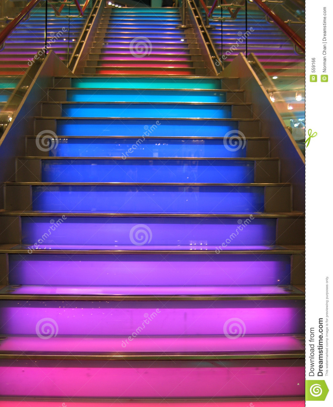 Colourful Stairs Royalty Free Stock Image Image 559166