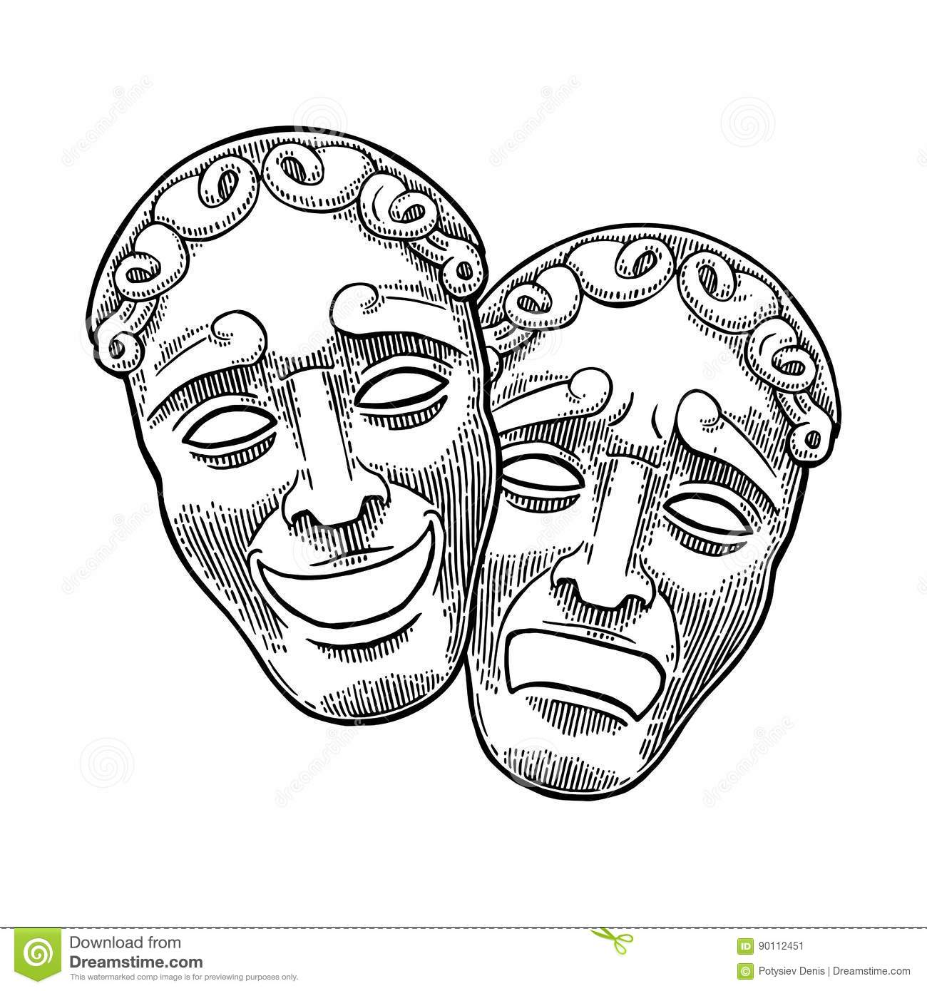 Theatre Mask Clipart