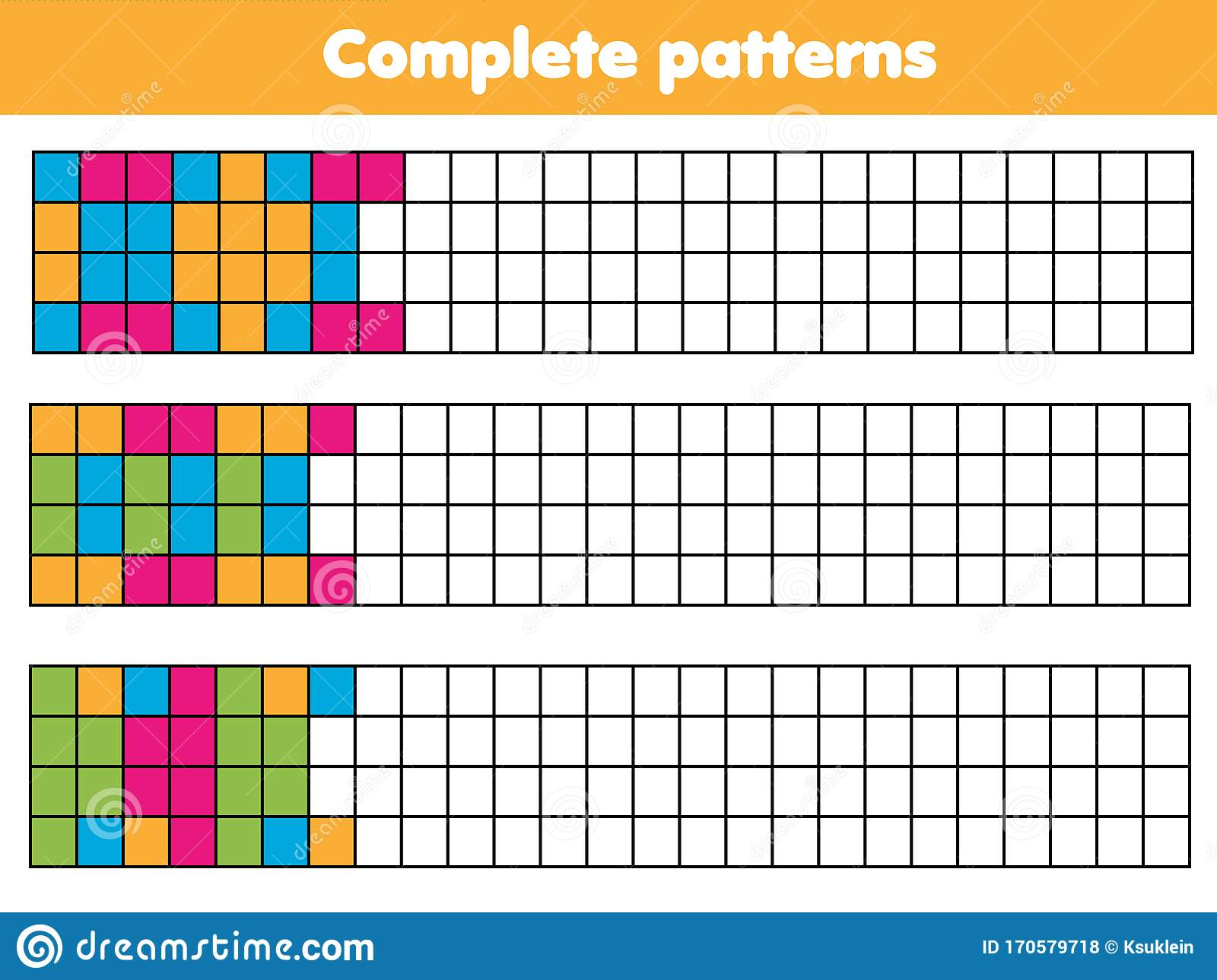 Complete Geometric Patterns Educational Game For Children