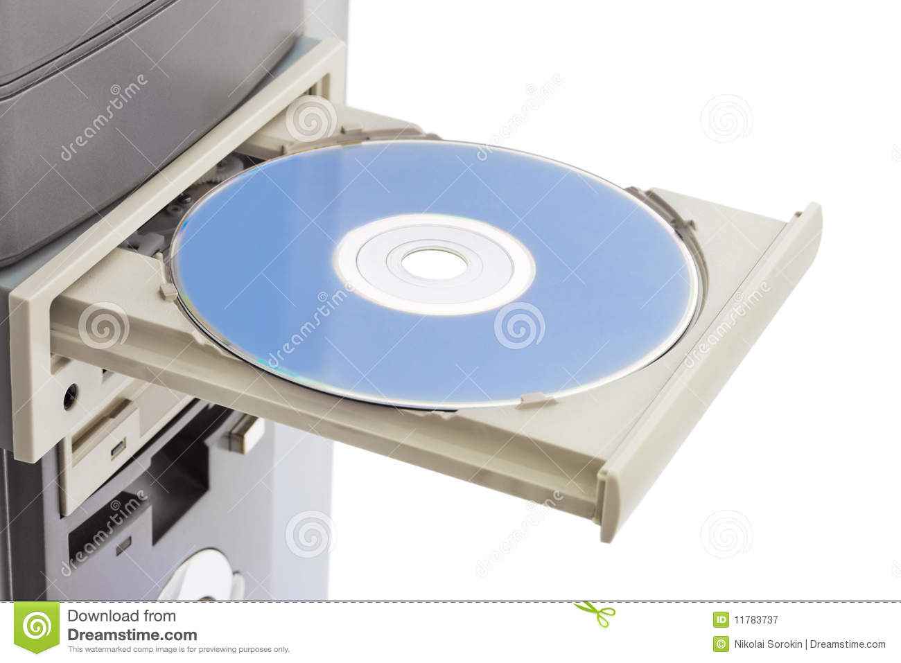Computer Cd Rom Royalty Free Stock Photography