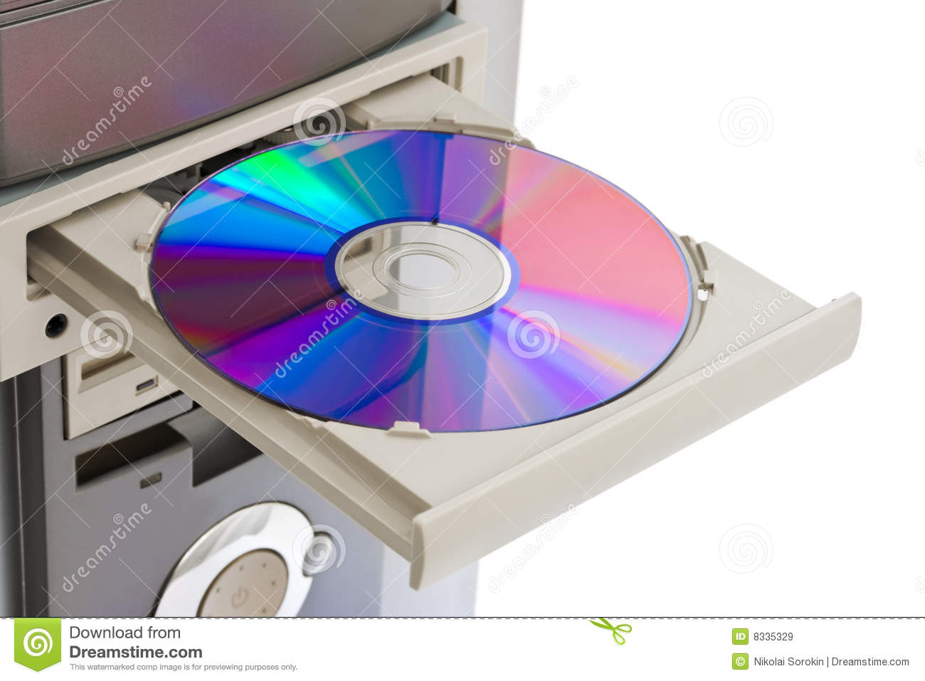 Computer Cd Rom Royalty Free Stock Images