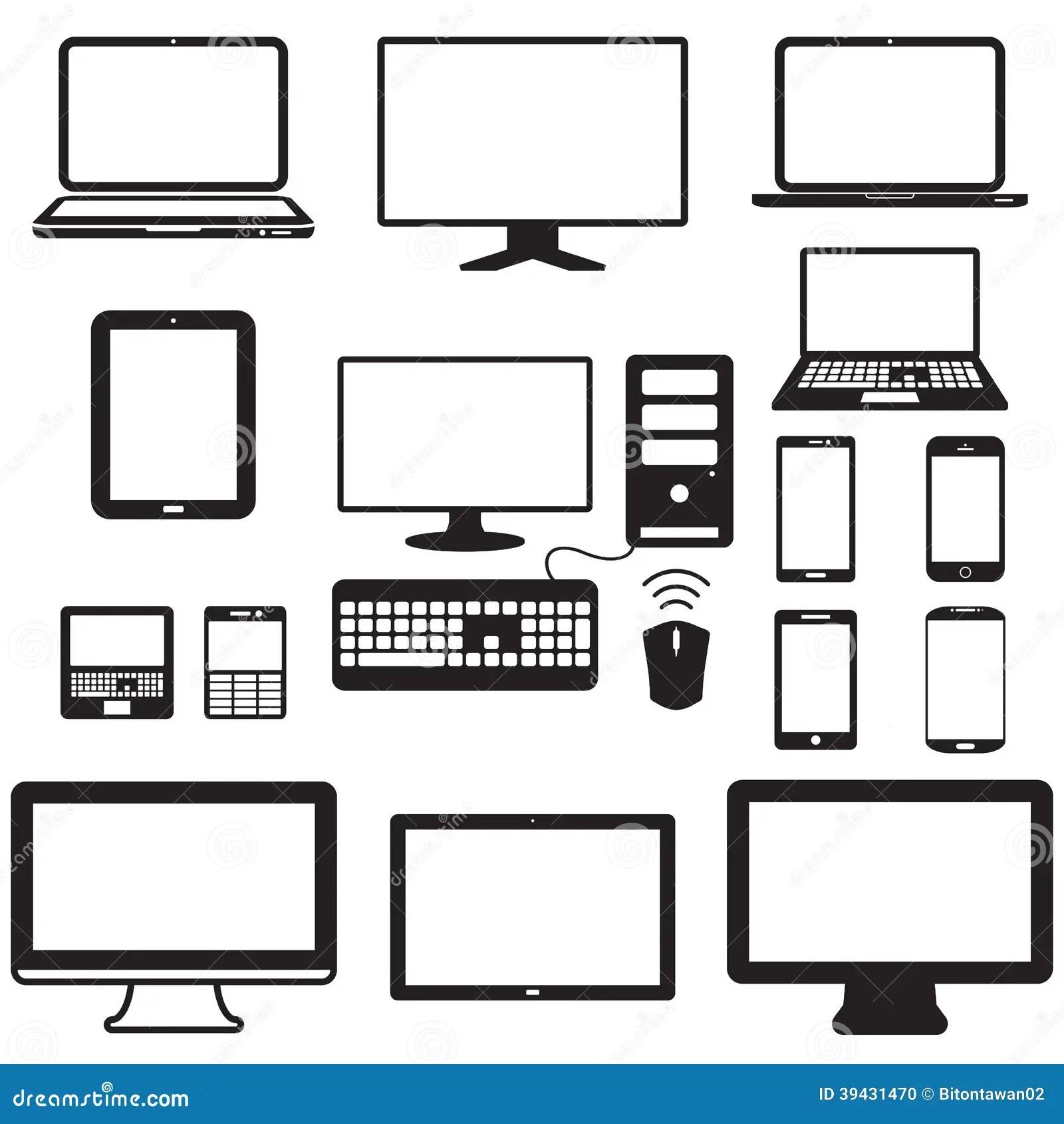 Computer Portatile Computer Della Compressa Monitor E