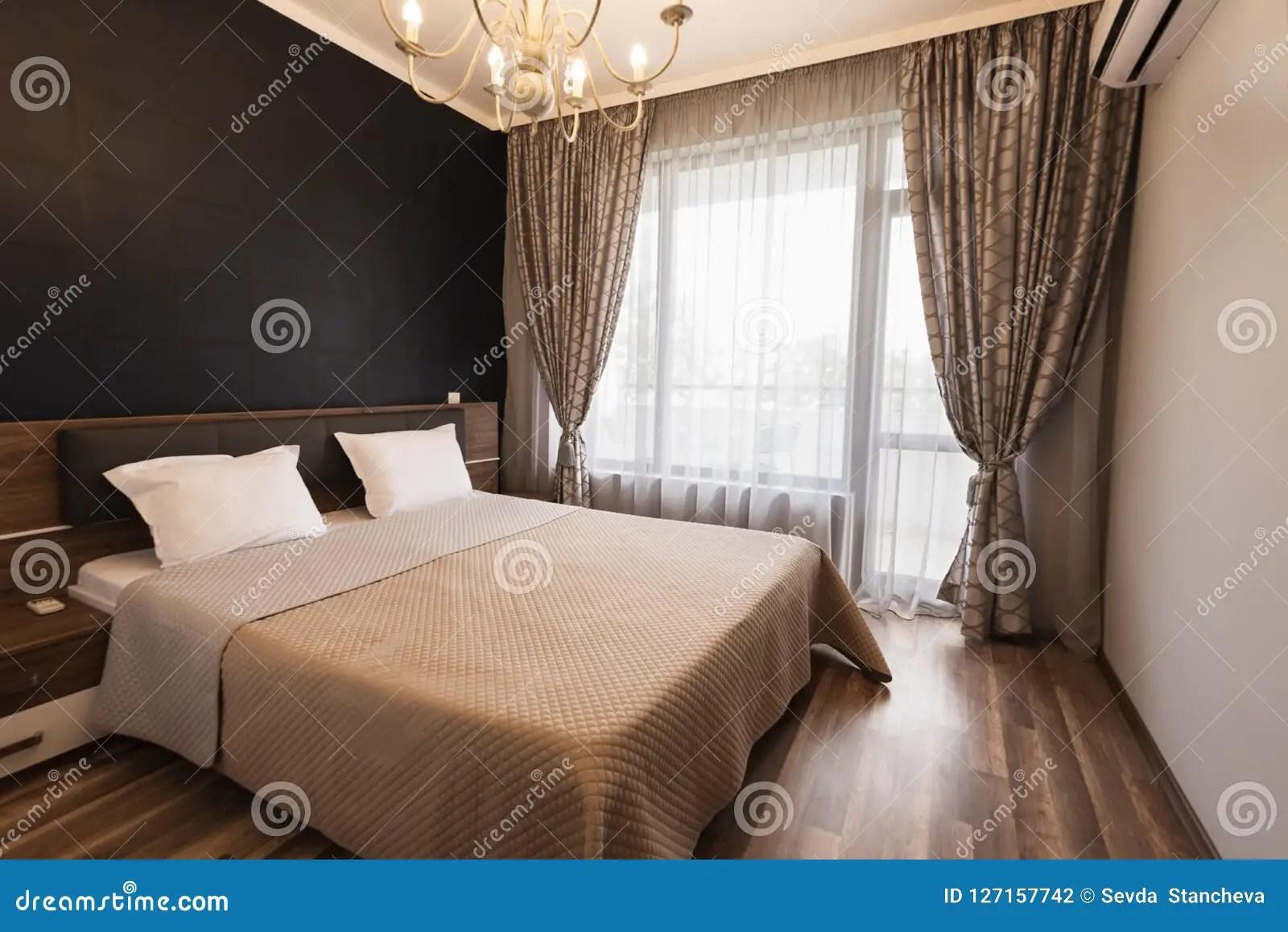 lit avec le ton brun de couleur windows