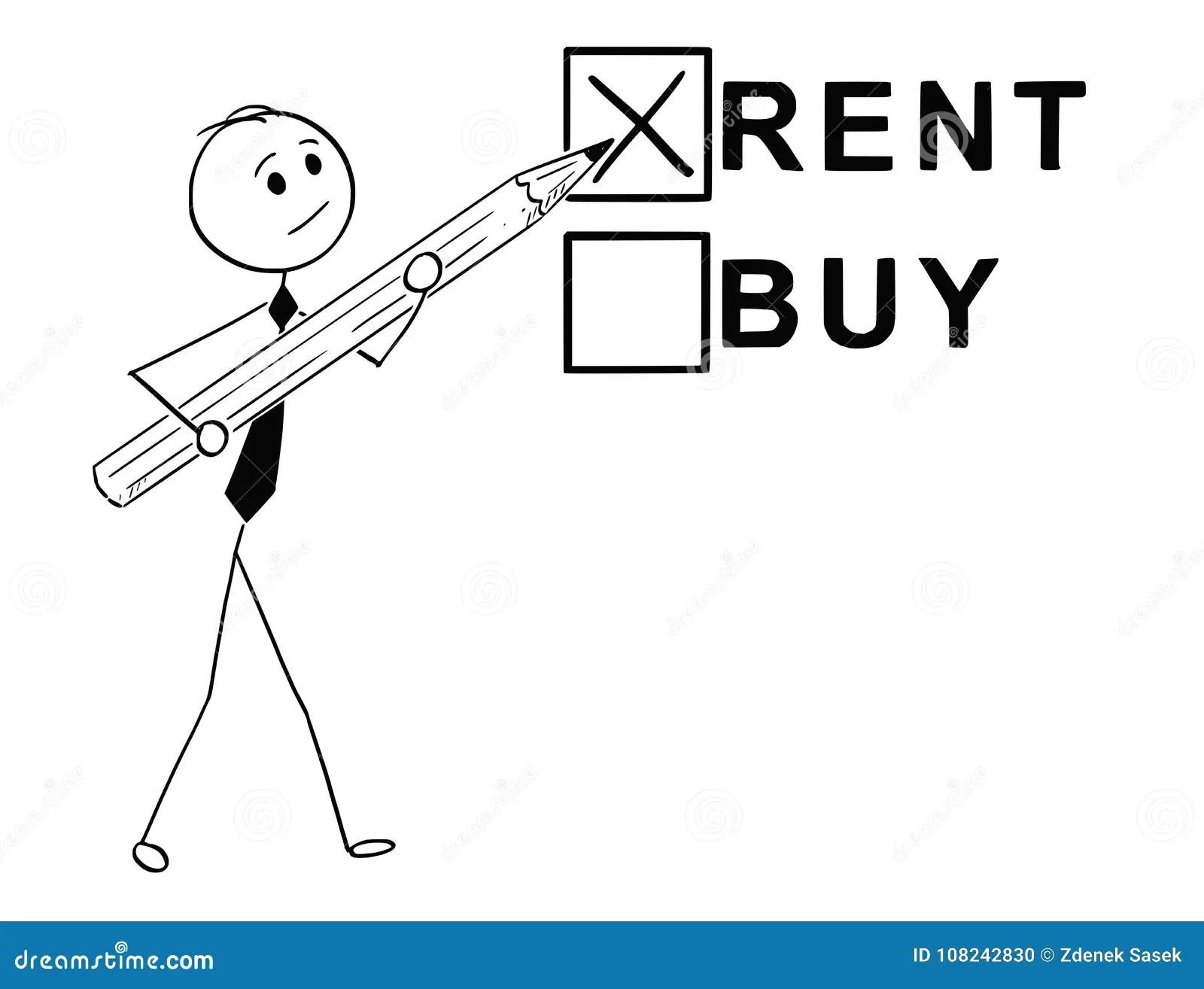 Rent Metaphor Stock Photo