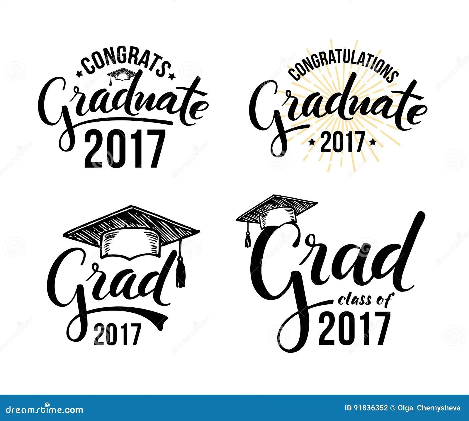 Congratulations Graduate Stock Vector