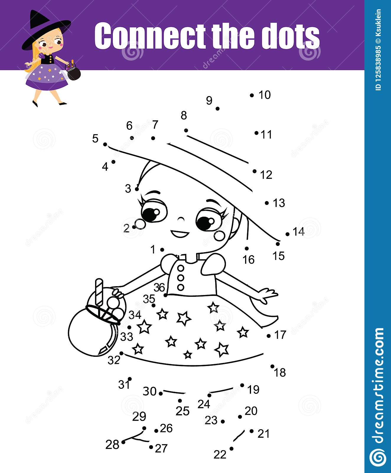 20 Connect The Dots Worksheets Printable