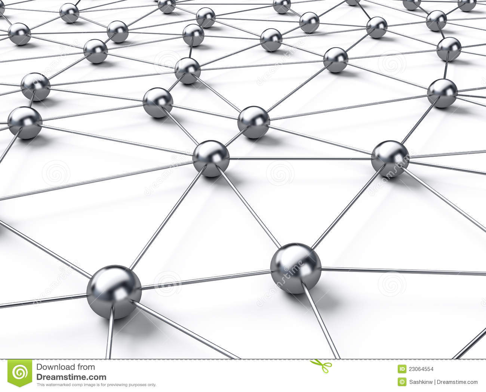 Connection Network Stock Illustration Illustration Of