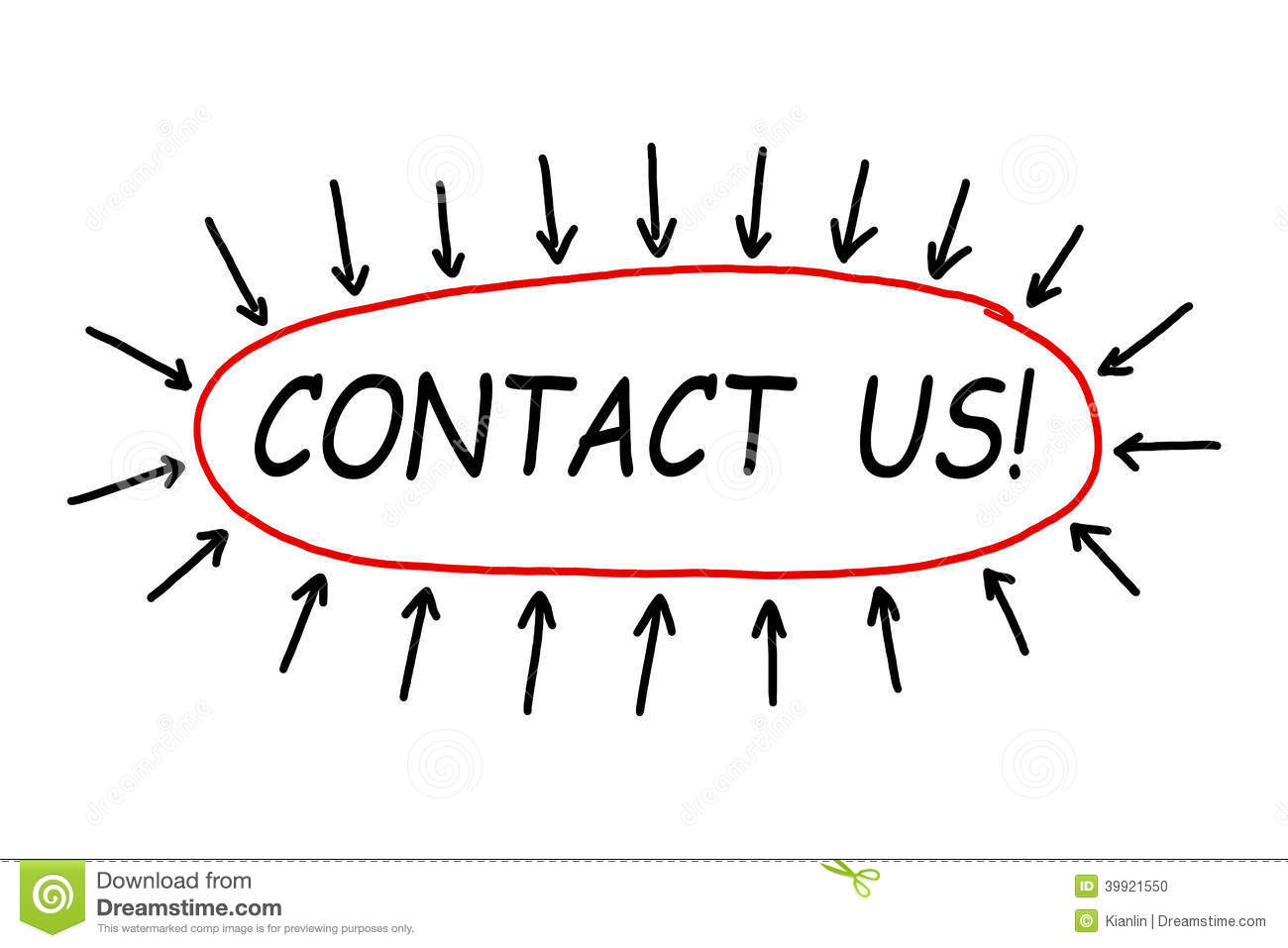 Contact Us Stock Photo Image Of Office Acknowledgment