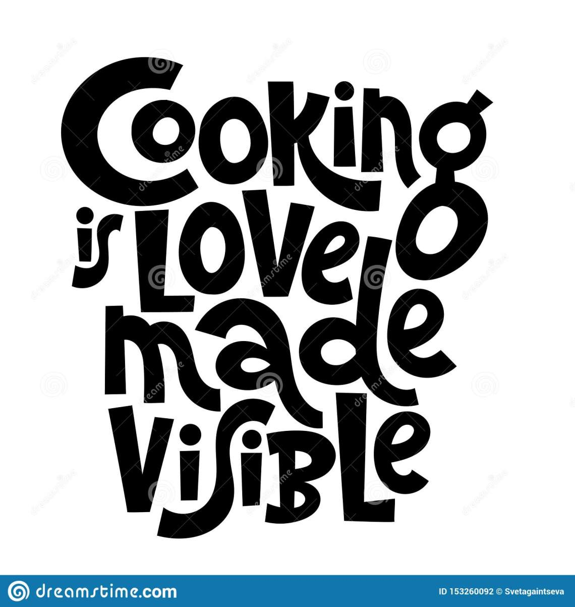 Download Cooking class quotes stock vector. Illustration of black ...