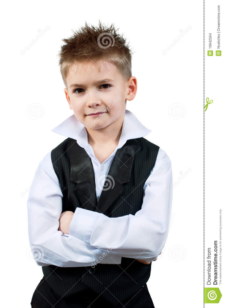 Cool Little Boy Stock Images Image 19942564