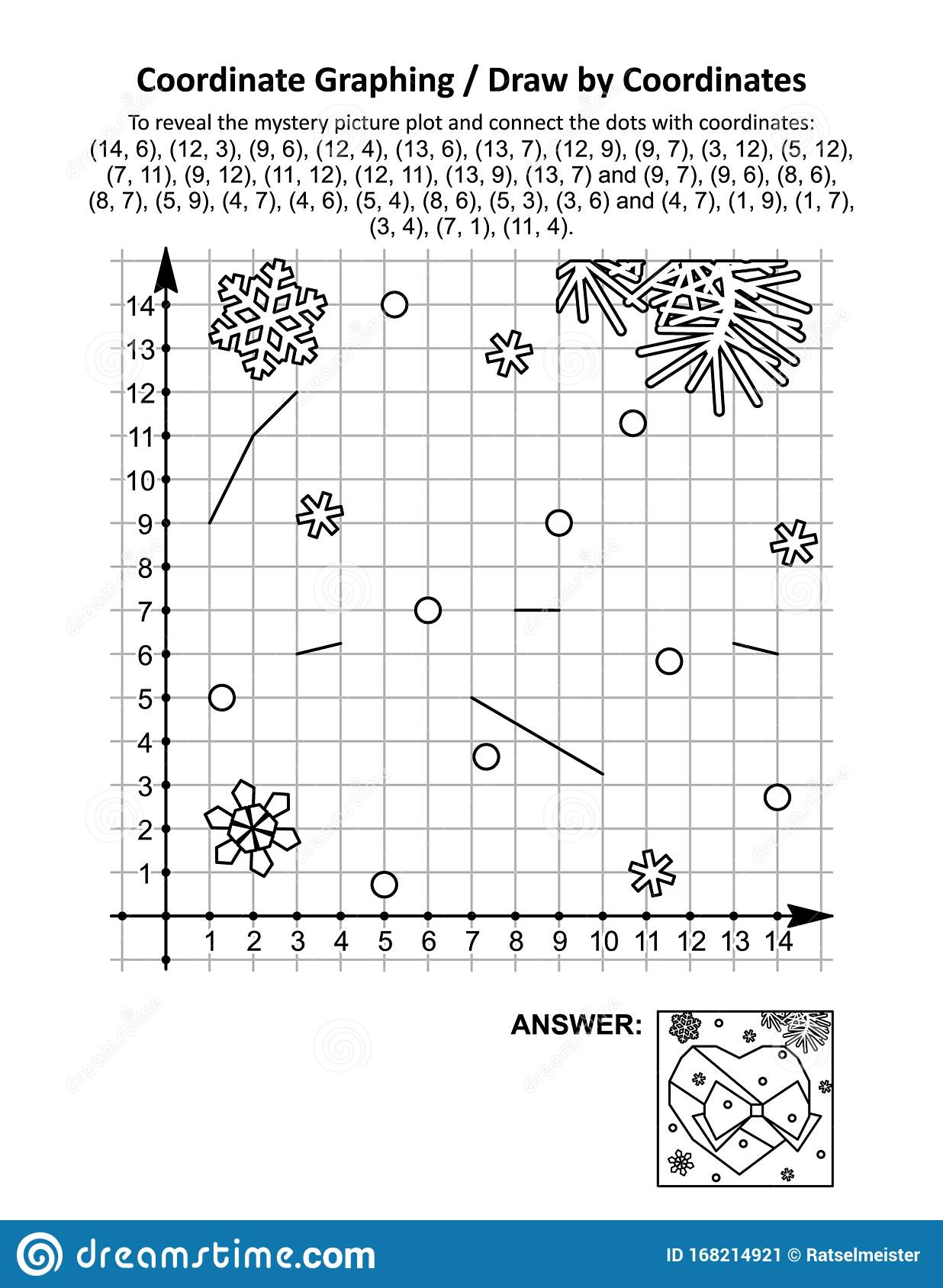 Coordinate Graphing Or Draw By Coordinates Math