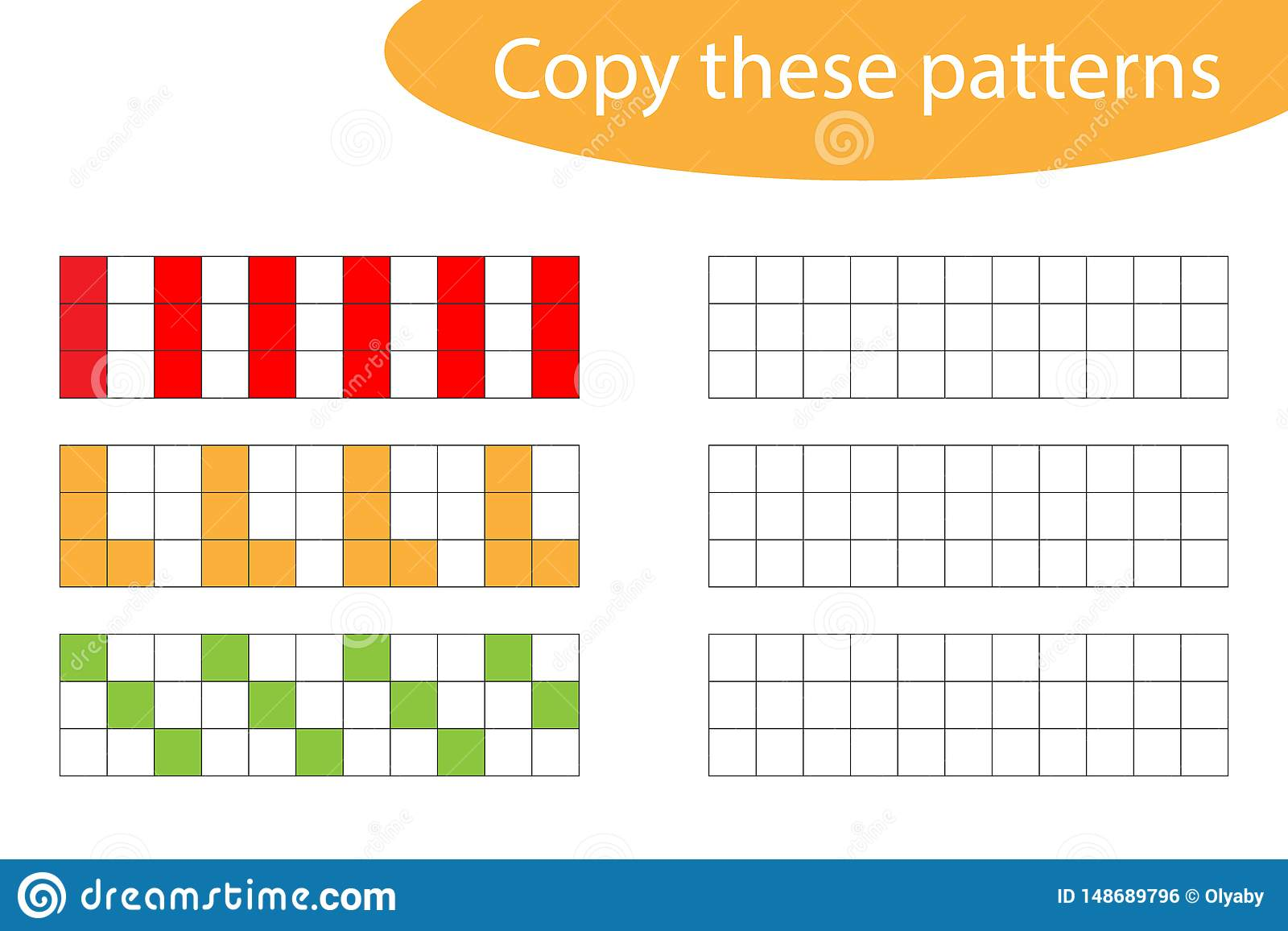 Copy These Patterns Pixel Art Drawing Skills Training
