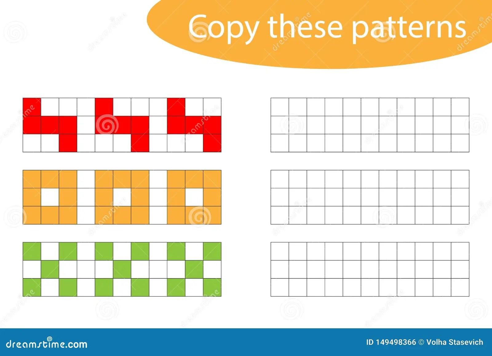 Copy These Patterns Pixel Art Drawing Skills Training