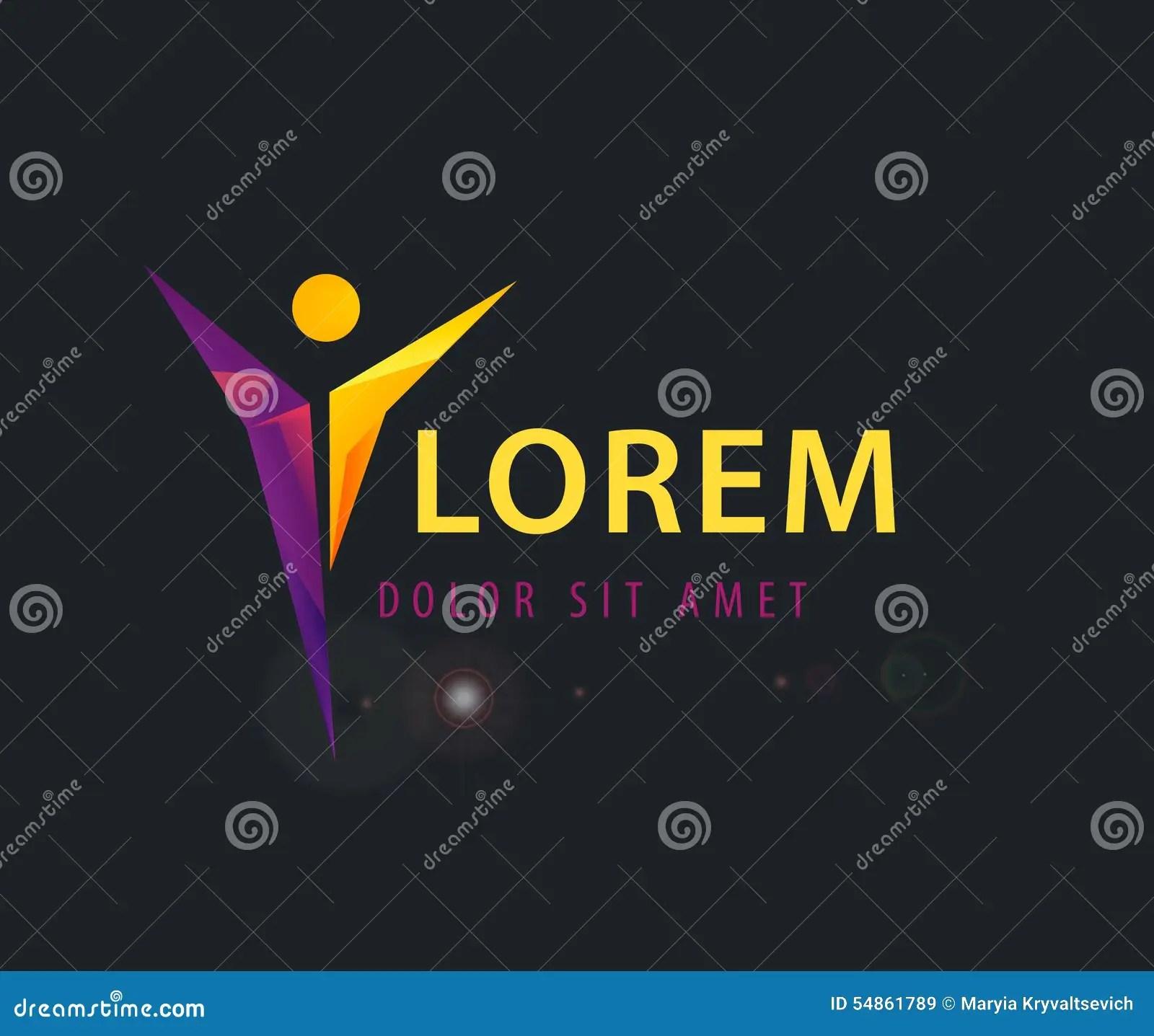 Corporate Success Health Winner Logo Template Stock Vector