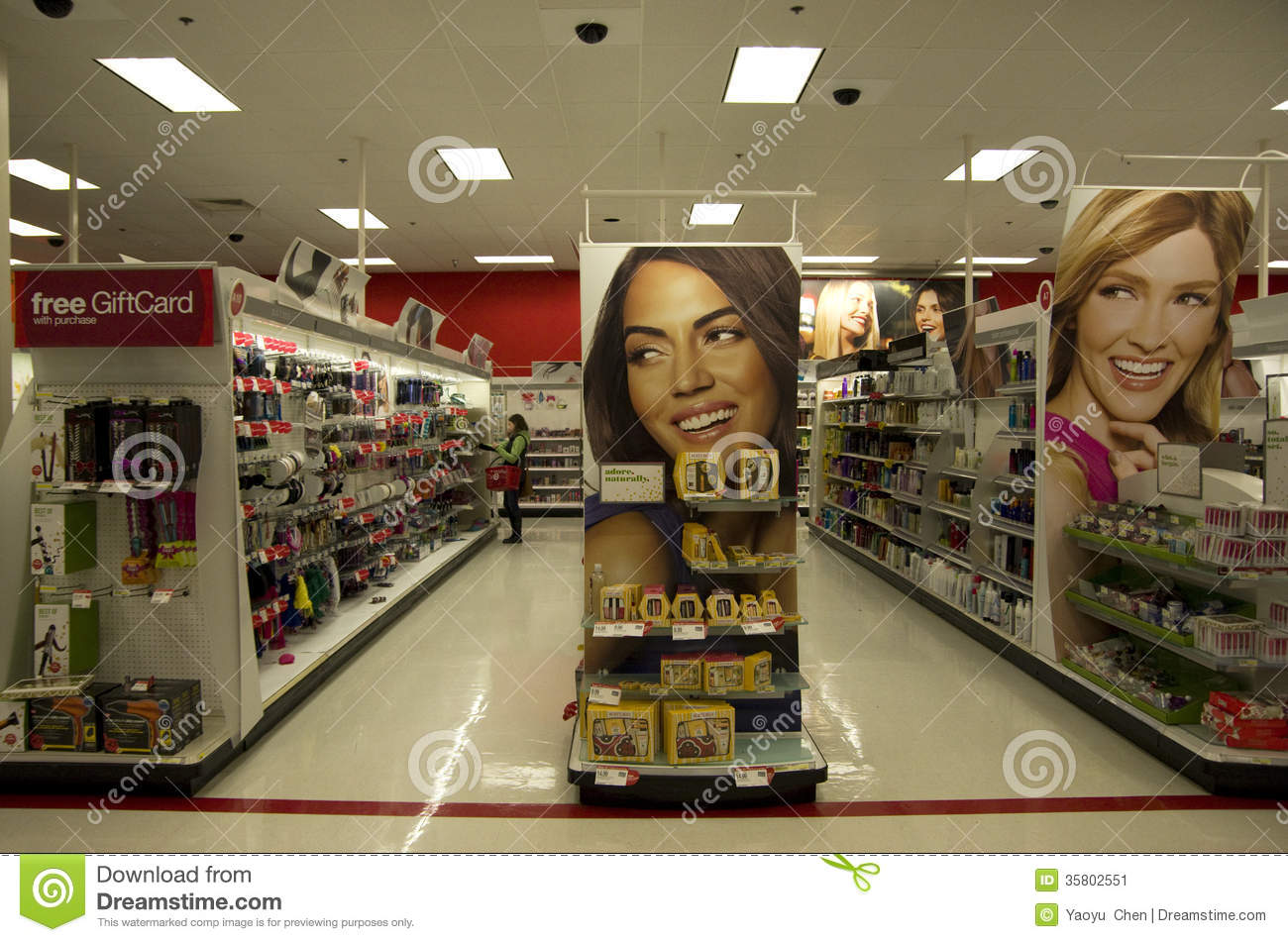 Cosmetic Beauty Store Target Editorial Photo Image 35802551