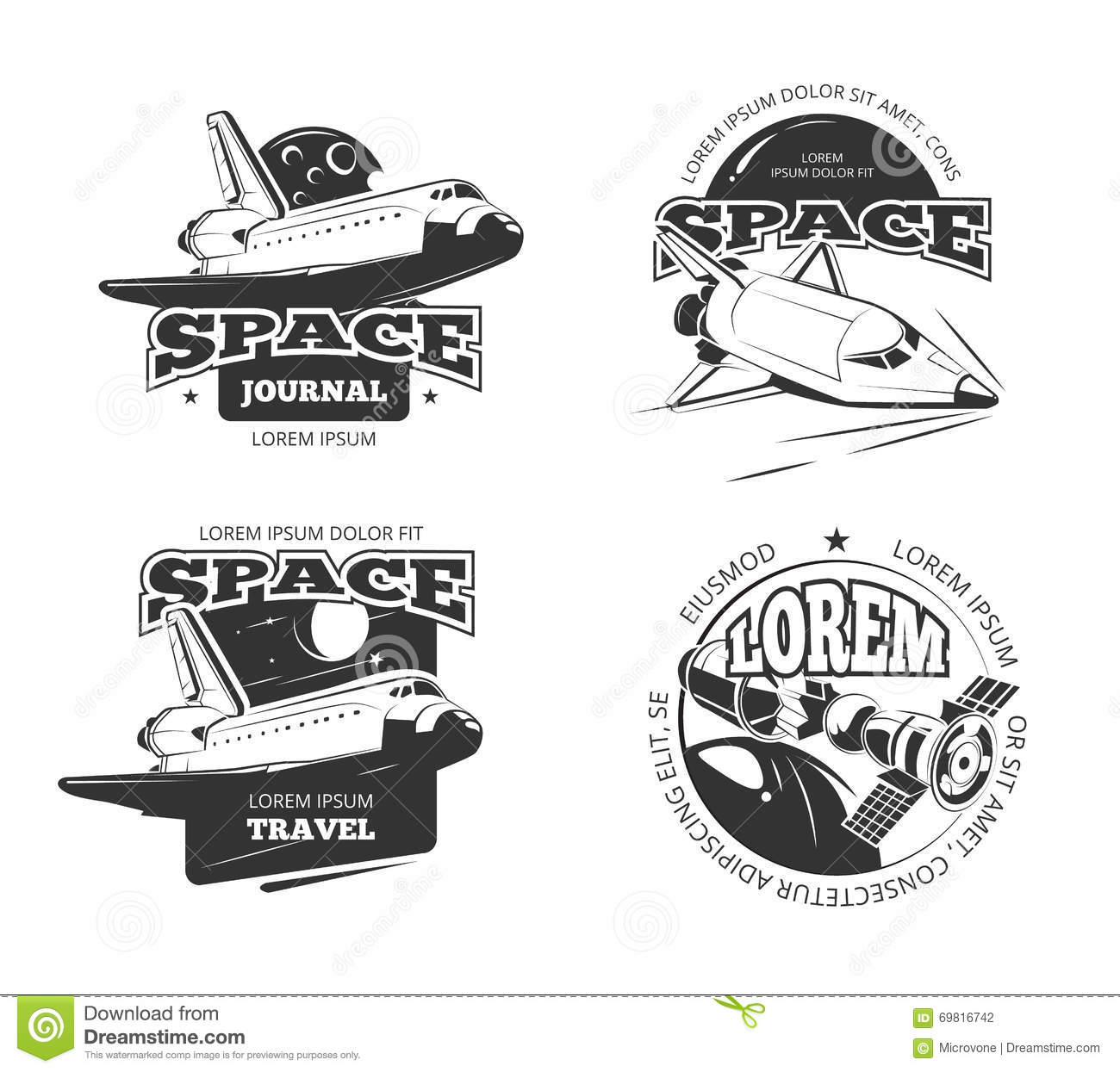 Planets Outer Space Diagram