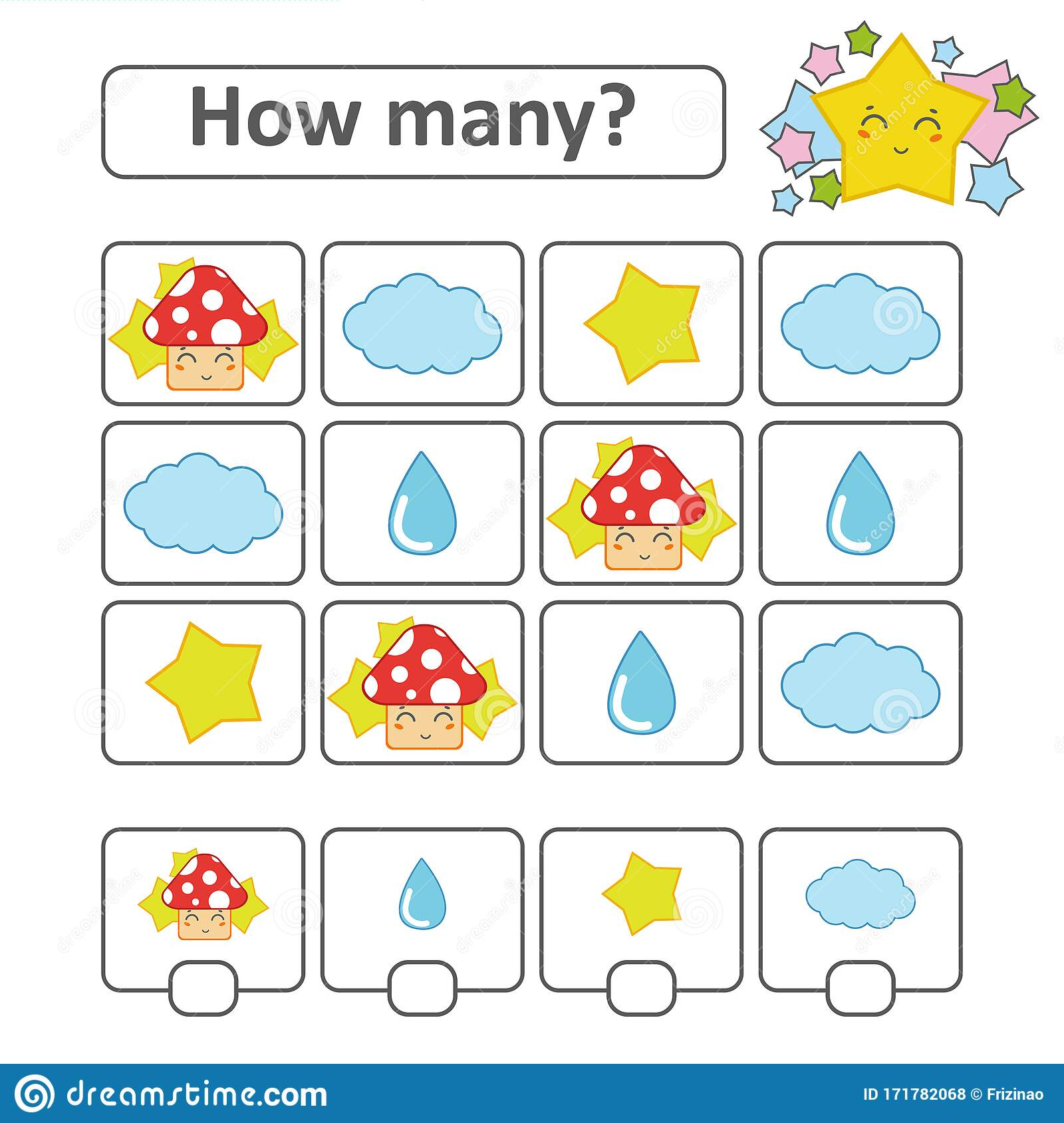 Red Objects Preschool Stock Illustrations 712 Red