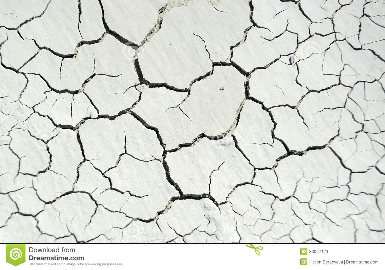 Cracked Concrete Background Stock Image