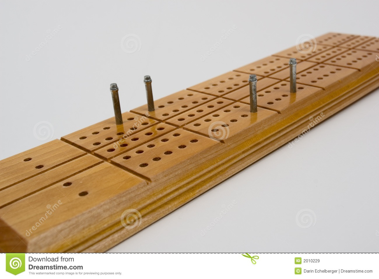 Cribbage Board Stock Image Image Of Closeup Cribbage