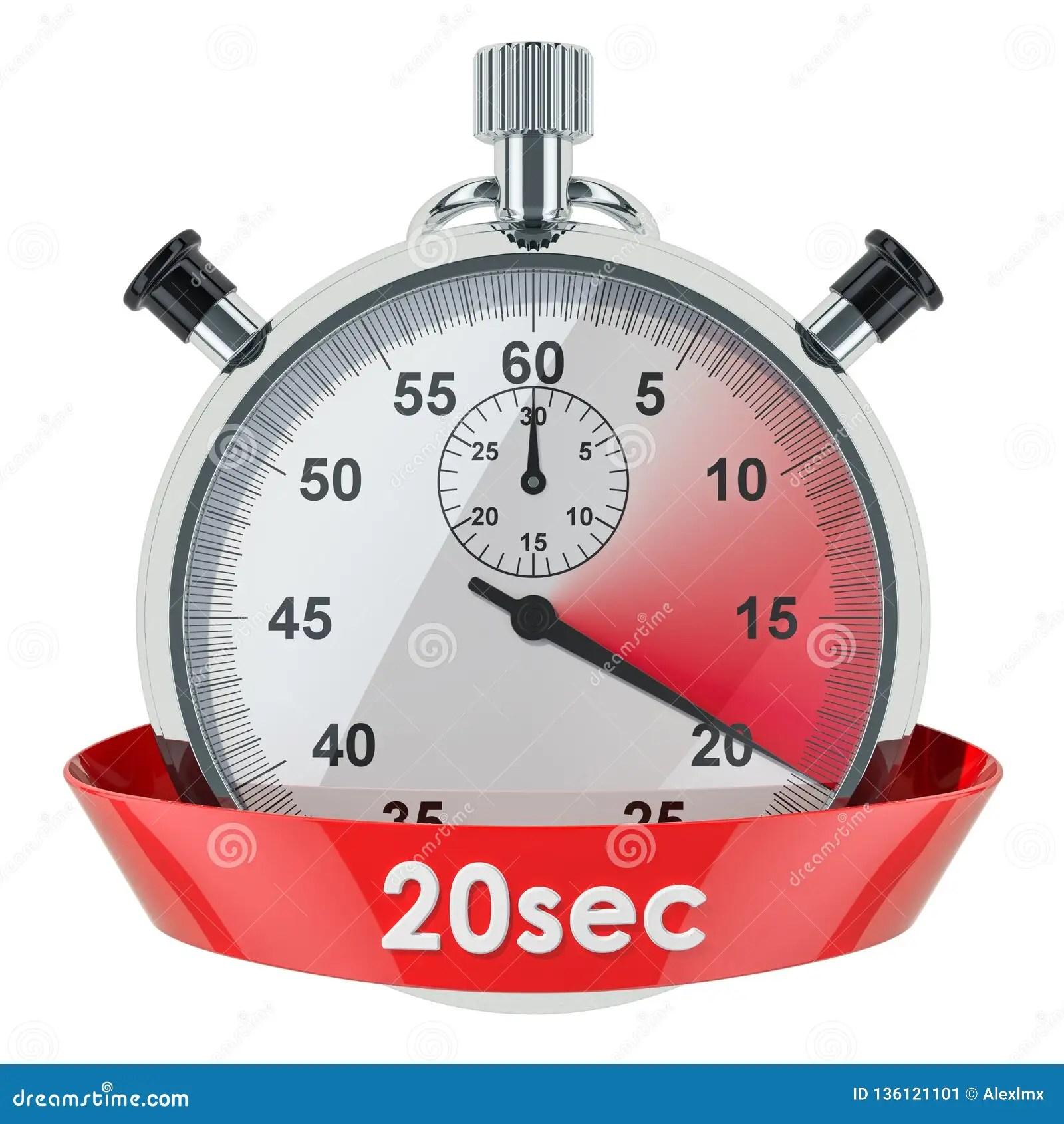 Temporizador 40 Segundos 20 Segundos