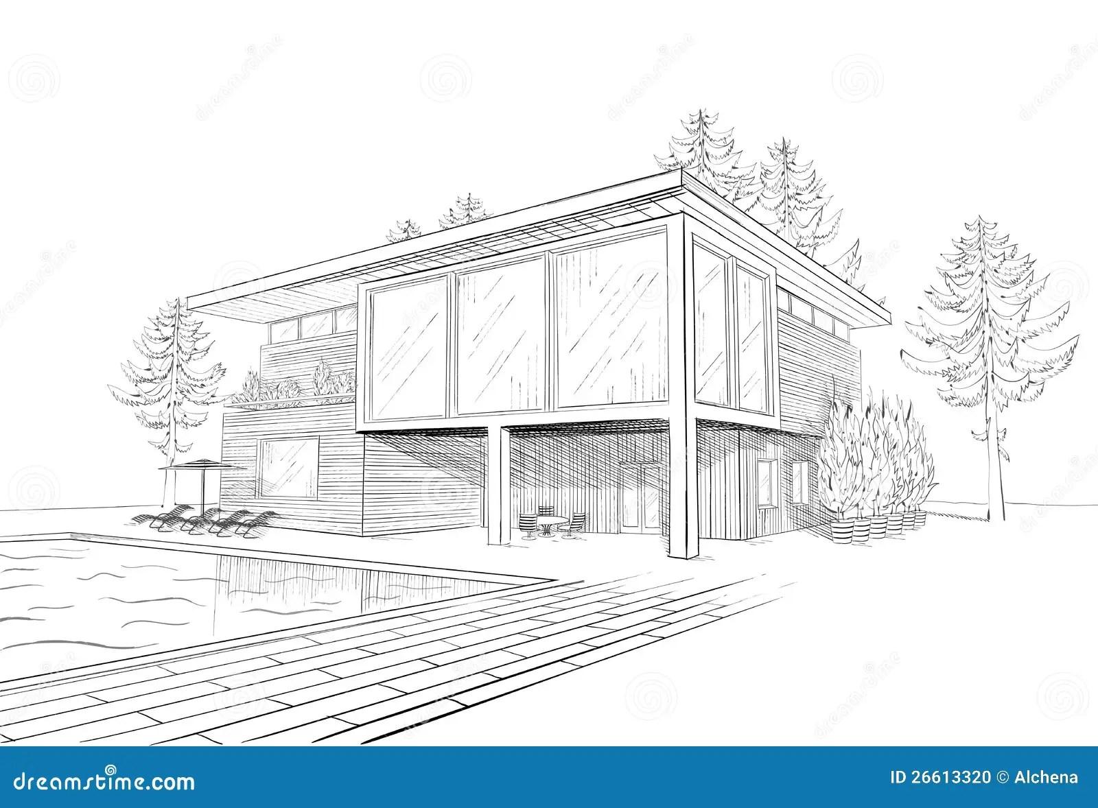Comment Dessiner Une Maison De Luxe Burnsocial