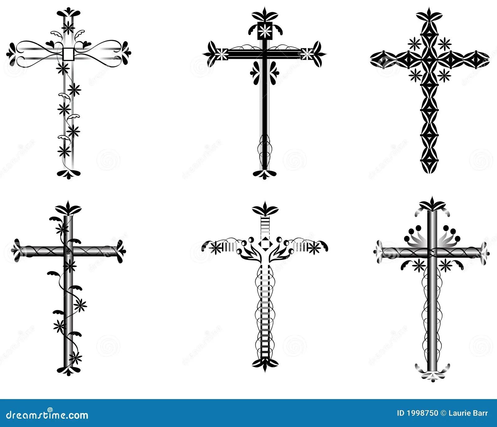 Cross Illustration Stock Photo