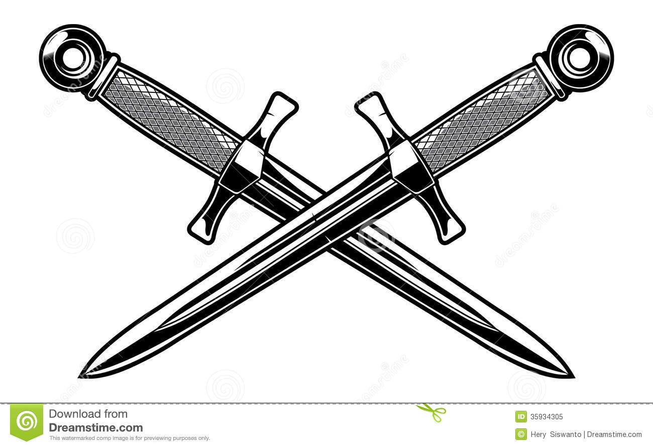 Dagger Stock Illustrations 6 092 Dagger Stock