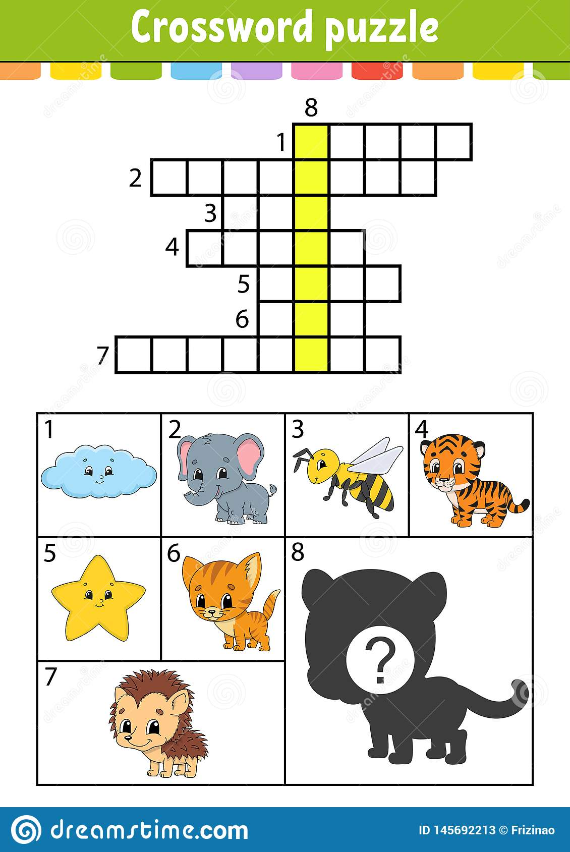 Crossword Puzzle Education Developing Worksheet Activity