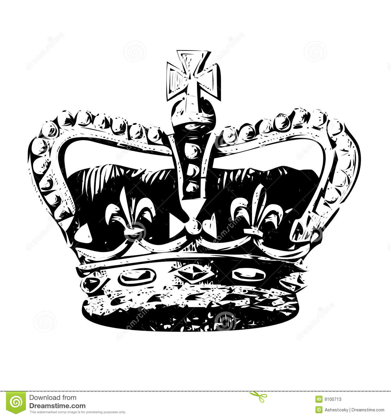 Crown Of King Vector Stock Vector Image Of Monarchy