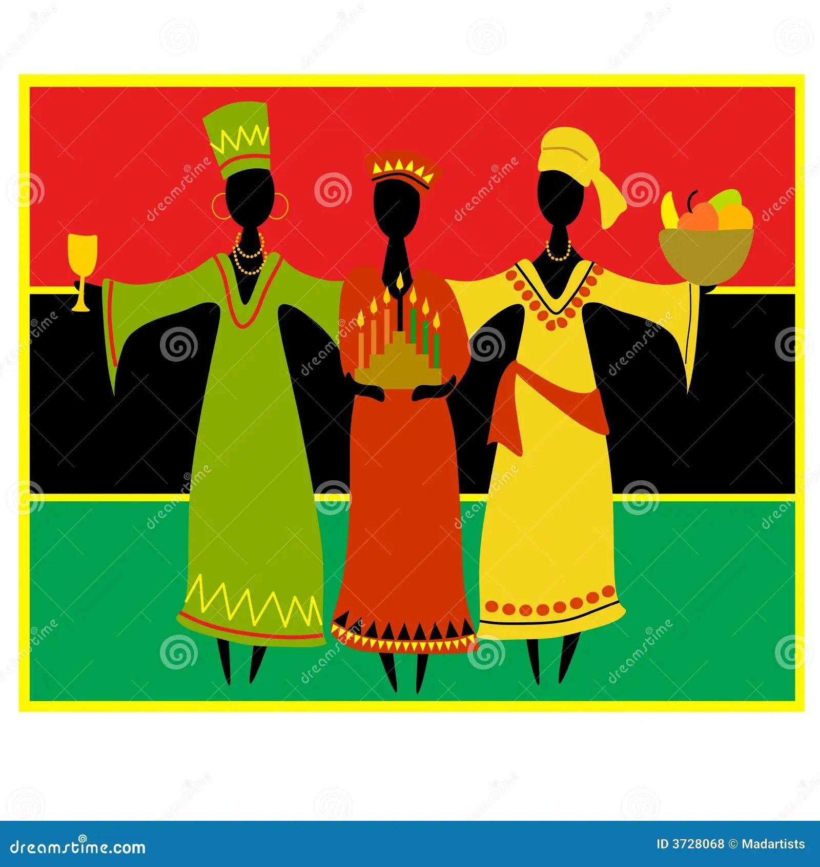 Cultural Kwanzaa Celebration Royalty Free Stock Photos