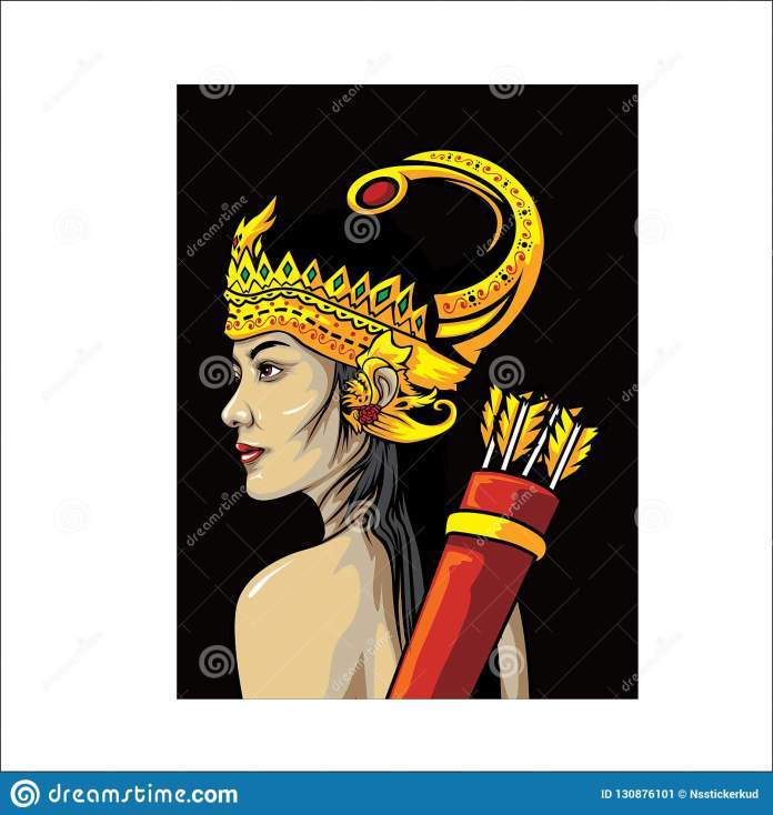 Culture From Javanese Indonesian Vector Design Stock Vector Illustration Of Bali Indonesian 130876101