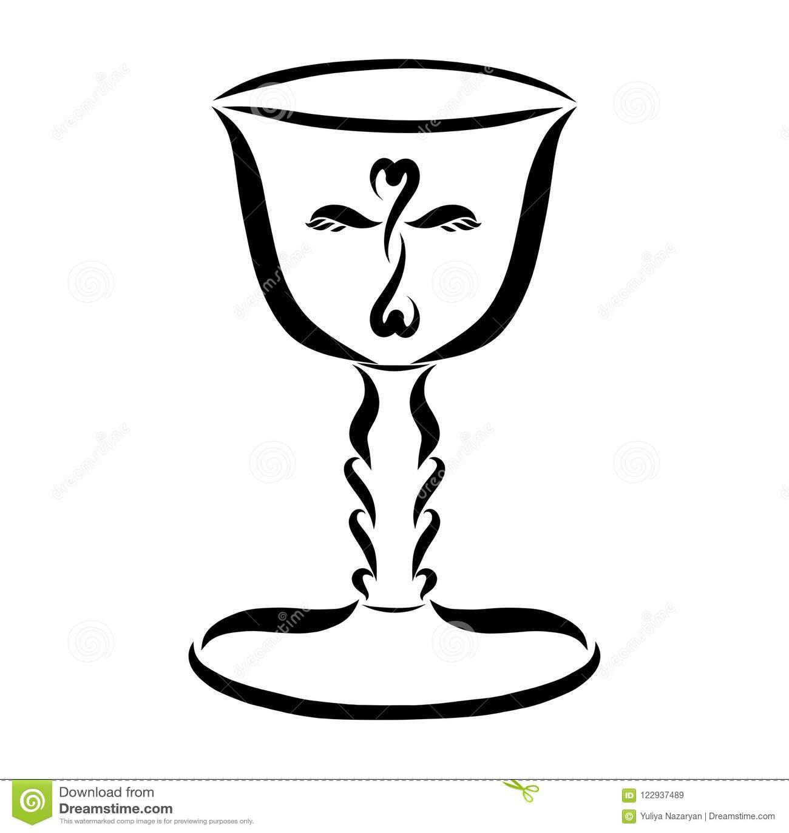 Cup Eucharist Stock Illustrations 325 Cup Eucharist