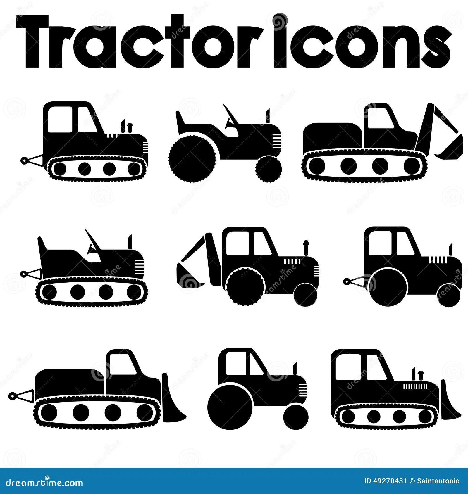 Transportation Big Black And White Icon Set Cartoon Vector