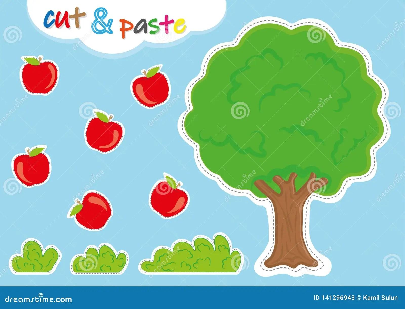 Cut And Pasteactiviteiten Voor Kleuterschool Peuter