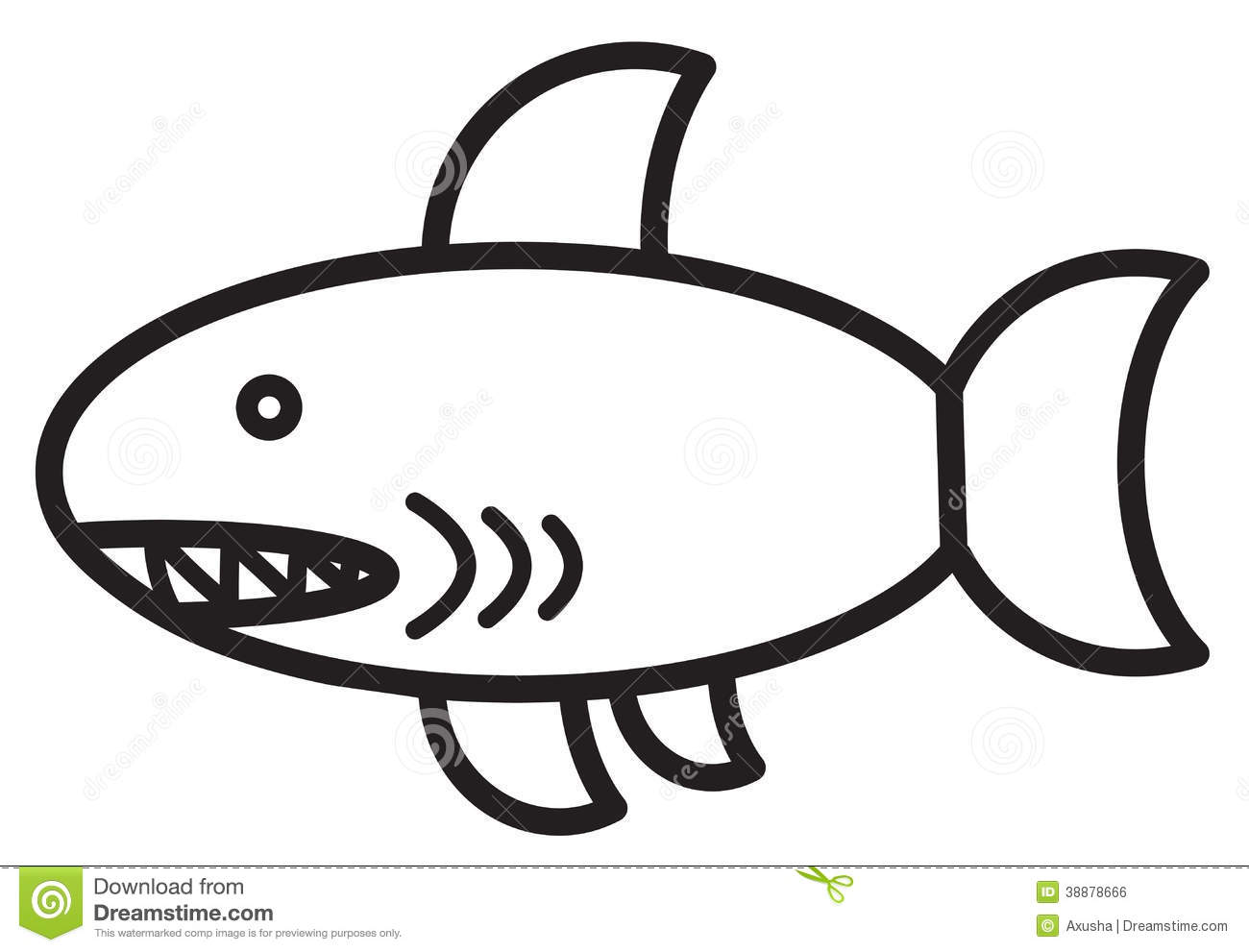 Cute Animal Shark