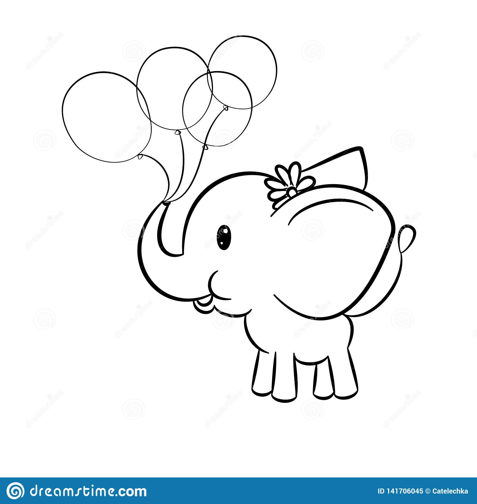 Elephant Colouring Stock Illustrations 253 Elephant Colouring Stock Illustrations Vectors Clipart Dreamstime