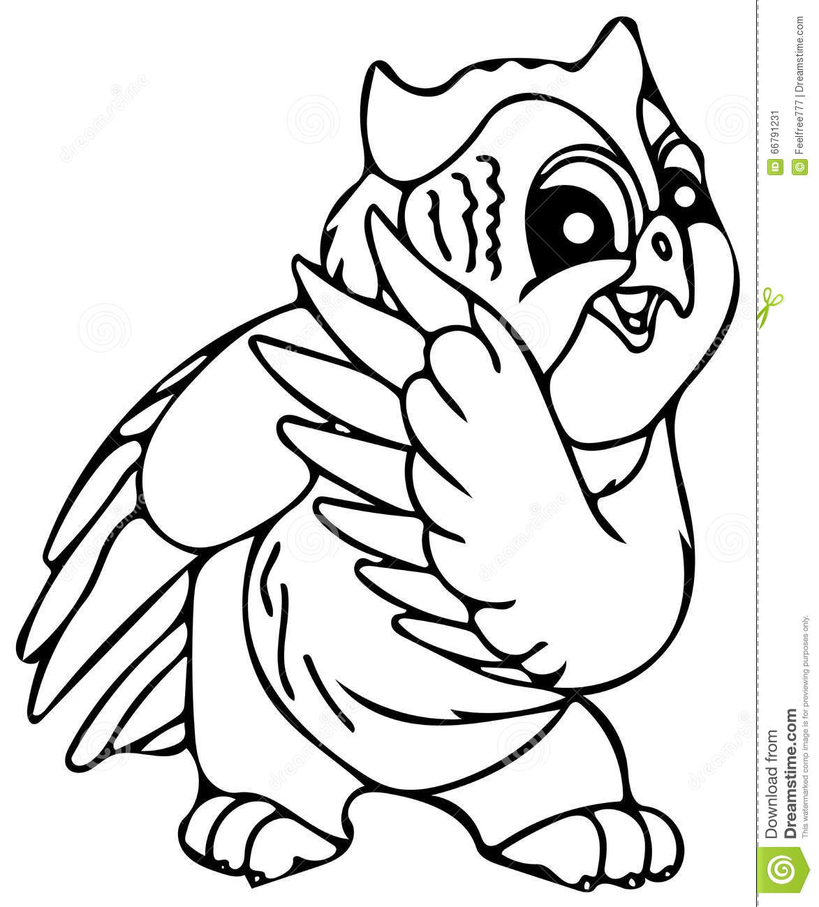 stock image cute owl coloring pages image 66791231